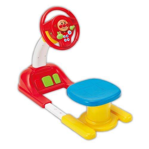 麵包超人 駕車 方向盤坐駕玩具 玩具 ST 開車玩具 駕駛室 模擬仿真 寶寶兒童開車 兒童 幼兒 真愛日本