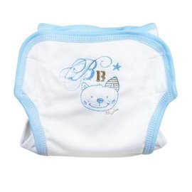 奇哥貓咪透氣尿褲6個月藍149元(現貨售完為止