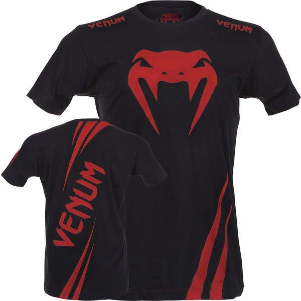 UFC超級潮T格鬥品牌VENUM眼鏡蛇挑戰者-紅魔鬼款式T-shirt 選手最愛-1043