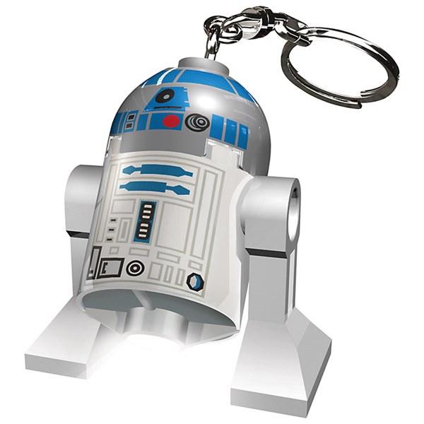 《 樂高積木 LEGO 》星際大戰 STAR WARS LED 燈鑰匙圈 - R2D2