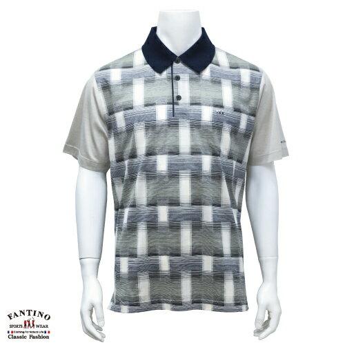 【FANTINO】男裝 80支雙絲光棉POLO衫 131306 0