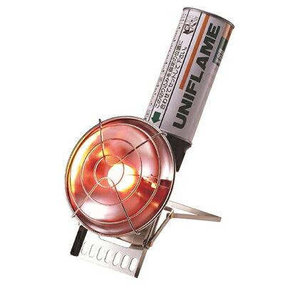 【【蘋果戶外】】UNIFLAME U630051 UH-C小型強力暖爐 瓦斯暖爐 日本製造 輕巧 攜帶方便