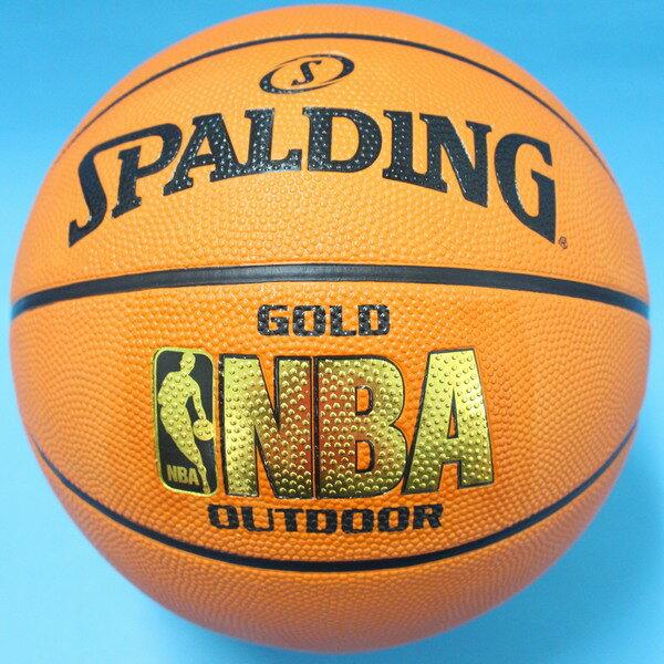 SPALDING 斯伯丁籃球 金字 NBA籃球 斯伯丁7號籃球/一個入(特690)