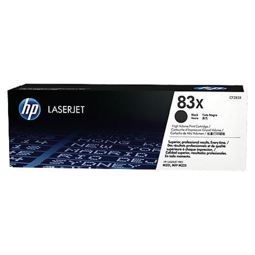 【免運】HP 83X CF283X 原廠高印量黑色碳粉匣 適用 M201/M202/M225