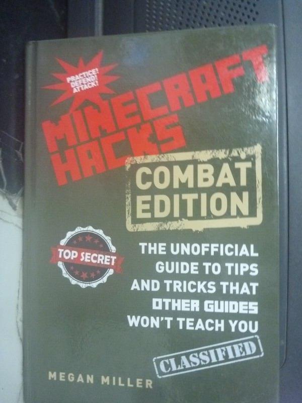【書寶二手書T3/電玩攻略_ZDR】Minecraft Hacks: Combat Edition
