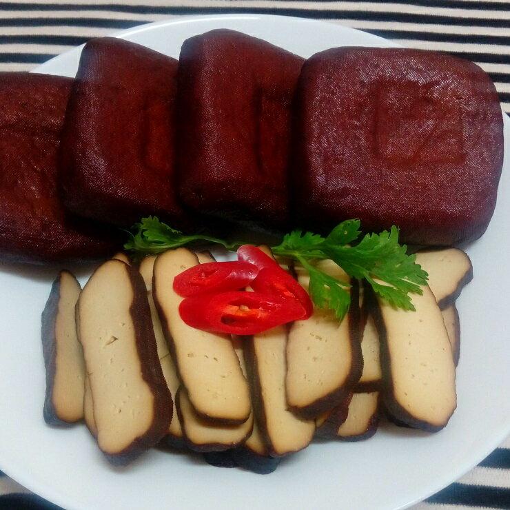 大溪素食滷味 龍鷹素食 黑糖滷味 滷黑豆干x5 買滷味附贈自製芝麻辣油包