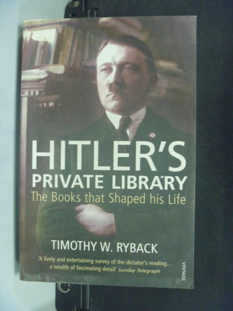 【書寶二手書T4/傳記_HET】Hitler's Private Library_Timothy W