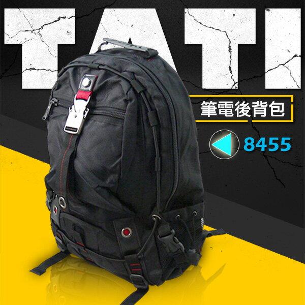 【加賀皮件】TaTi*符合人體工學 多功能休閒/運動/電腦後背包/書包 8455