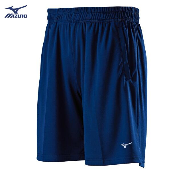 P2TB8A0414(深丈青)足球針織短褲【美津濃MIZUNO】