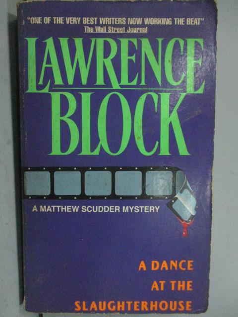 ~書寶 書T5/原文小說_LPP~Lawrence Block