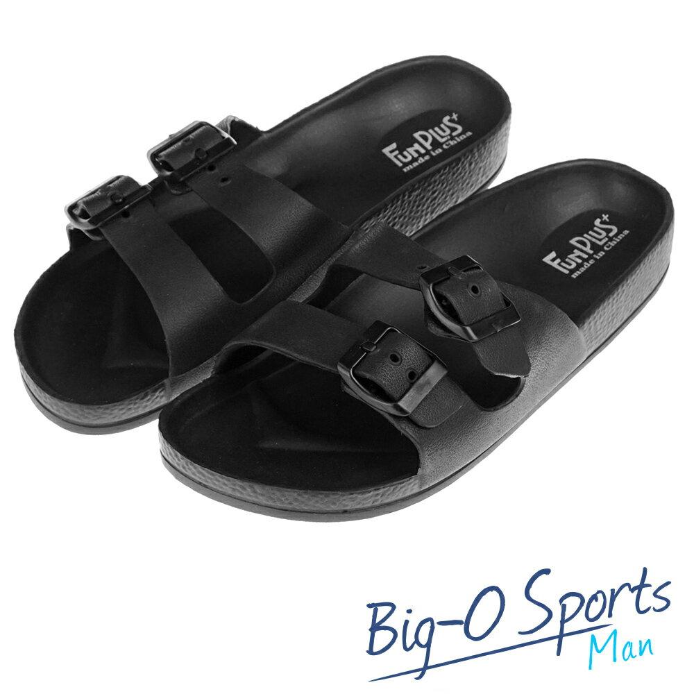 秒殺新款!!!  FUN PLUS+  輕便鞋 涼鞋 運動拖鞋  男 116101840000  Big-O Sports