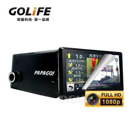 《GOLiFE》GoPad DVR7 多功能Wi-Fi行車紀錄聲控導航平板