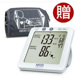 日本精密Nissei手臂式血壓計 DSK1011J 贈送羅布麻茶+CAMRY電子體重計