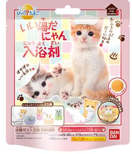 bandai溫泉貓Ⅱ新鹹蛋超人Miffy米菲兔電影版哆啦a夢入浴球單顆裝(含公仔)『121婦嬰用品館』