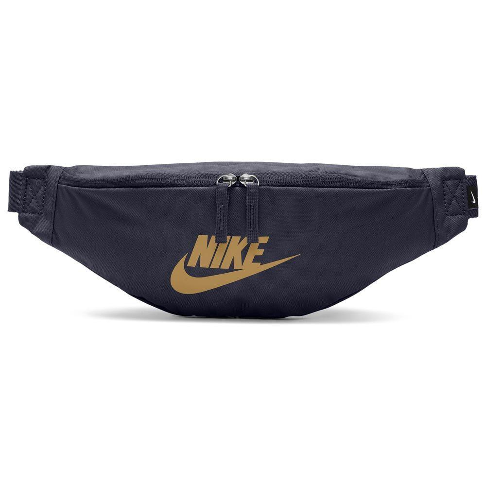 IMPACT Nike Heritage Hip Bag 藍 金 腰包 斜肩包 BA5750-452