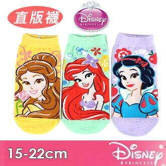 2018新款迪士尼卡通直版襪系列台灣製迪士尼公主