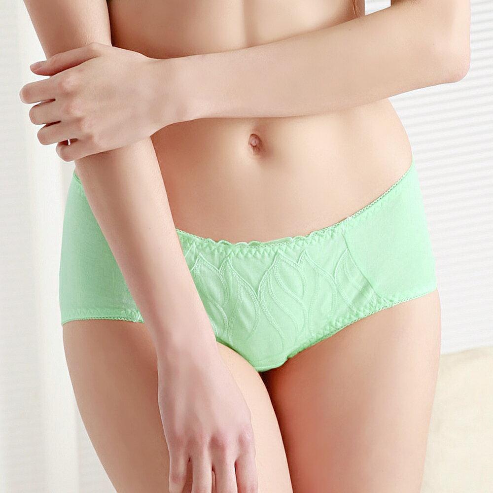 【Emon】夏綠魅影集中成套內衣(果綠) 1