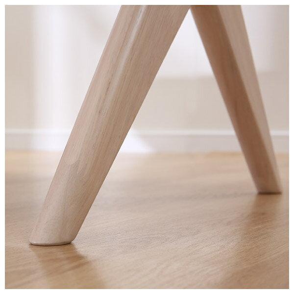 ◎(OUTLET)實木餐桌 RELAX 160 WW 橡膠木 福利品 NITORI宜得利家居 4