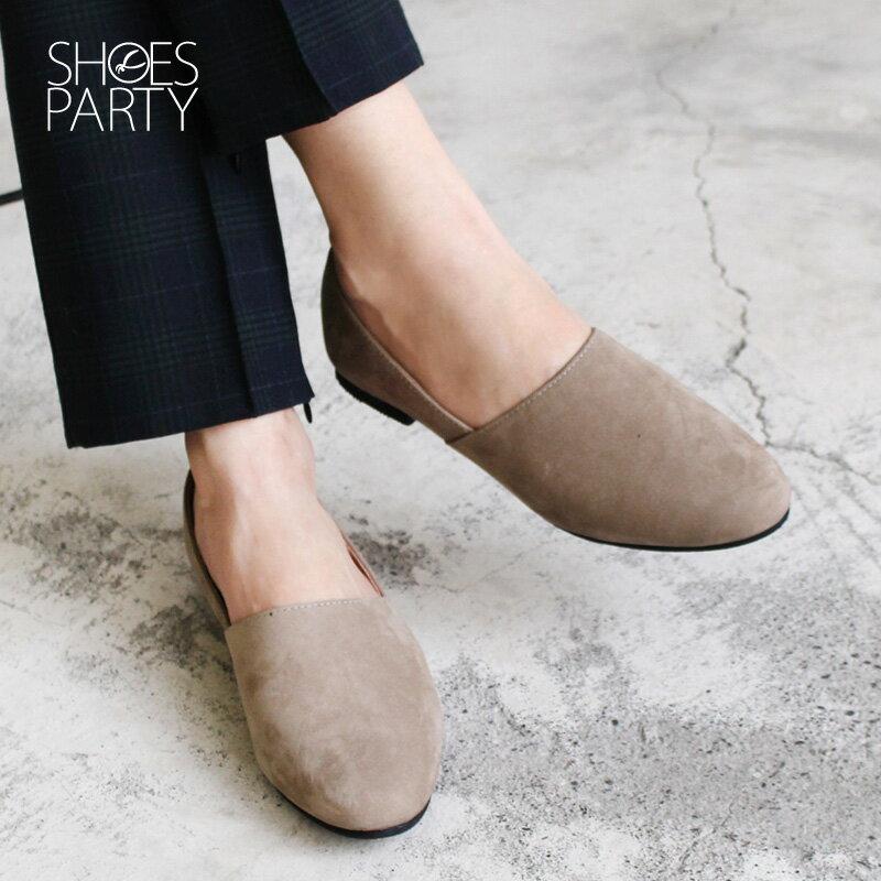 【C2-18105L】製造長腿效果的拼接歐貝拉_Shoes Party 1