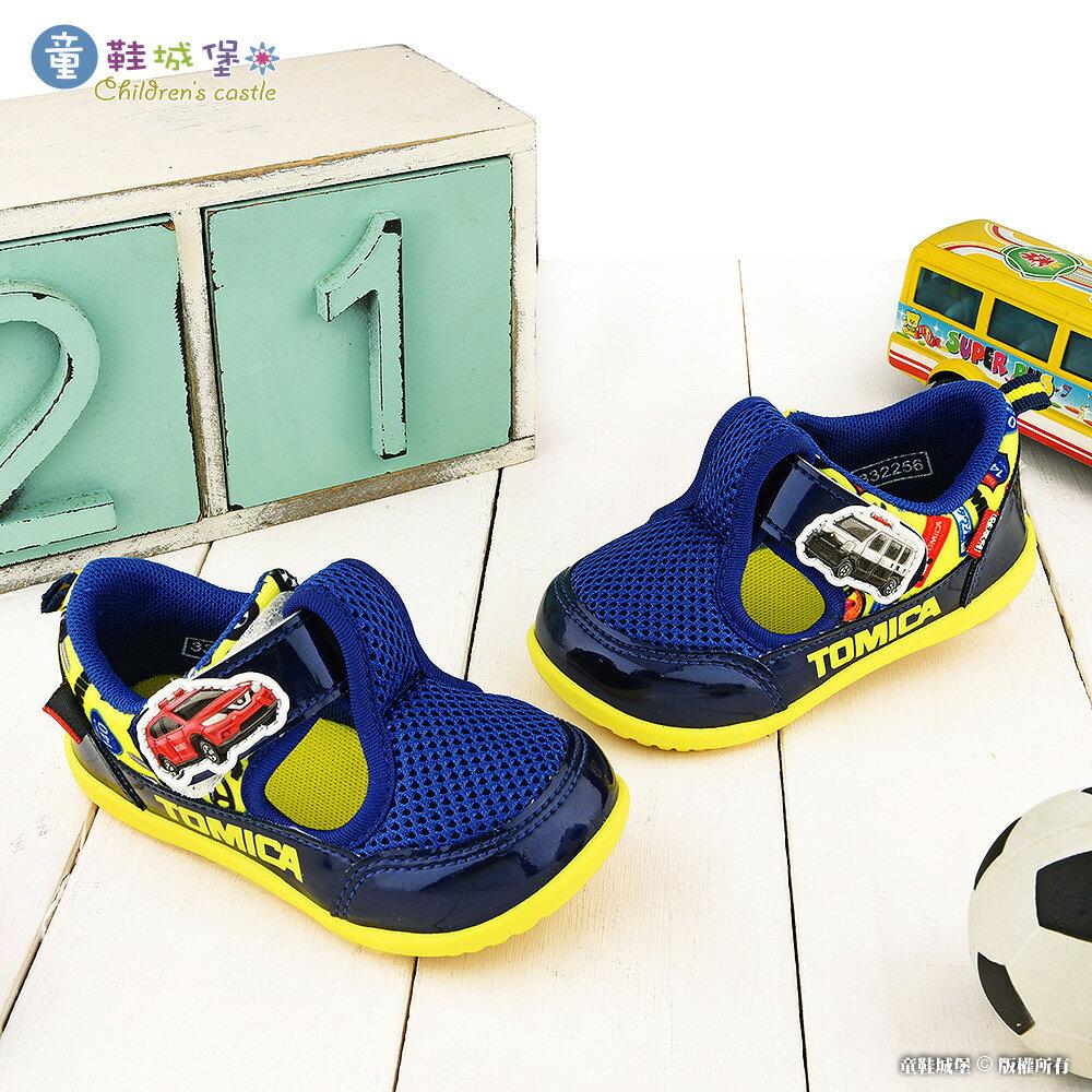 Tomica多美小汽車 網布透氣休閒鞋 TM7736 藍【童鞋城堡旗艦店】
