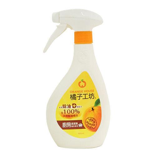 橘子工坊廚房烤爐清潔劑 480ml【合康連鎖藥局】