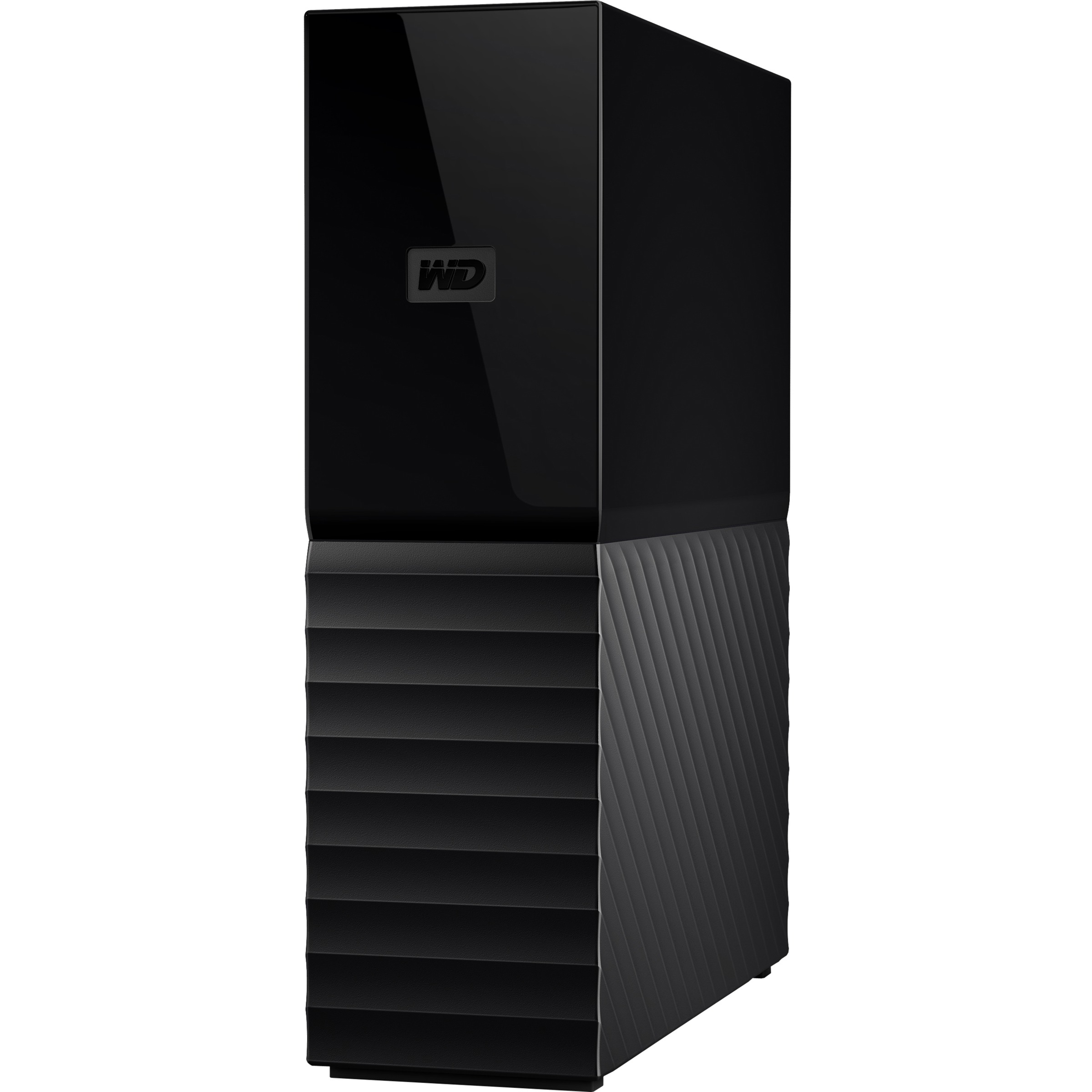 WD My Book 4TB USB 3.0 desktop hard drive with password protection and auto backup software - USB 3.0 - Desktop - Black - Retail - 256-bit Encryption Standard 0