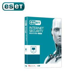 ESET Internet Security 網路安全套裝 單機三年版 (2017新版)【三井3C】