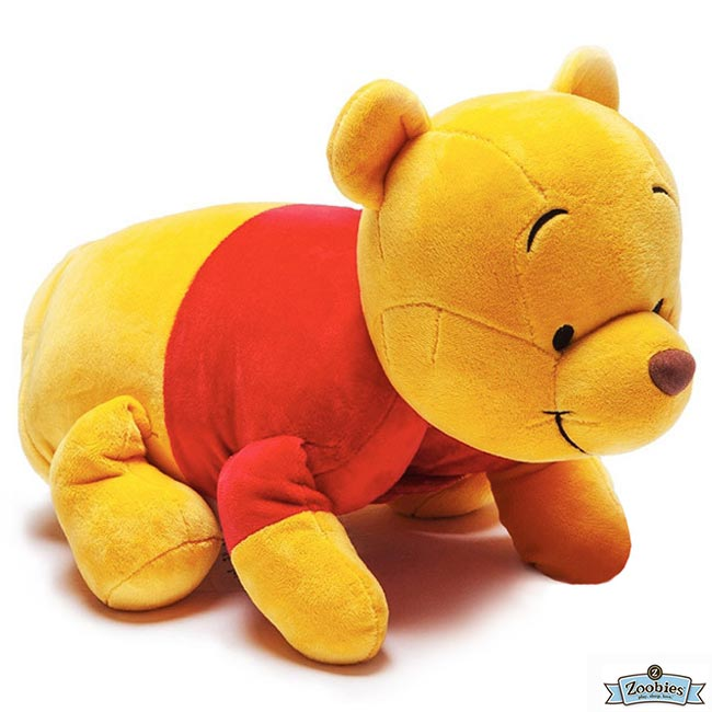 **雙子俏媽咪親子館** 美國ZOOBIES X DISNEY  迪士尼多功能玩偶毯 / 毛毯 / 玩偶 / 抱枕 【正版授權】- 小熊維尼 Pooh