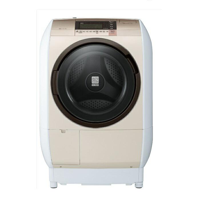 HITACHI 日立 SFBD5200W 尼加拉飛瀑滾筒式洗脫烘洗衣機(左開)(香檳金) ※熱線07-7428010
