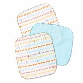『121婦嬰用品館』奇哥 快樂森林方巾-3入