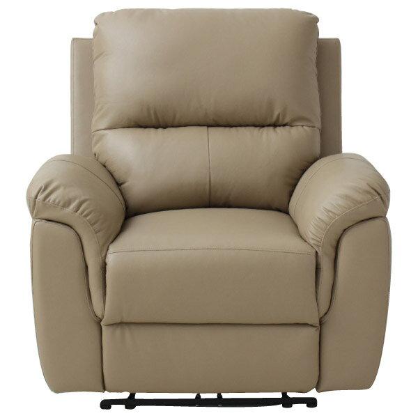 ◎半皮1人用電動可躺式沙發 N-BEAZEL MO NITORI宜得利家居 1