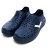 《2019新款》Shoestw【92U1SA03DB】PONY Enjoy 洞洞鞋 水鞋 海灘鞋 可踩跟 懶人拖 菱格紋 全深藍 白V 男女尺寸都有 0