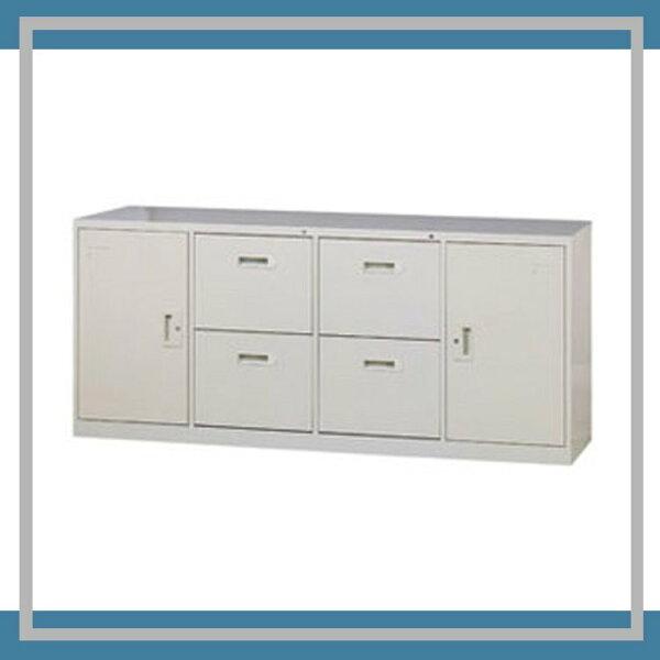 『商款熱銷款』【辦公家具】A-6204D四抽二門6尺隔間櫃卷宗櫃櫃子檔案收納內務休息室