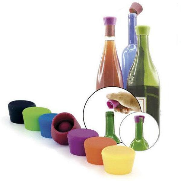 【西班牙Pulltex普德斯】葡萄酒矽膠瓶塞(1入)