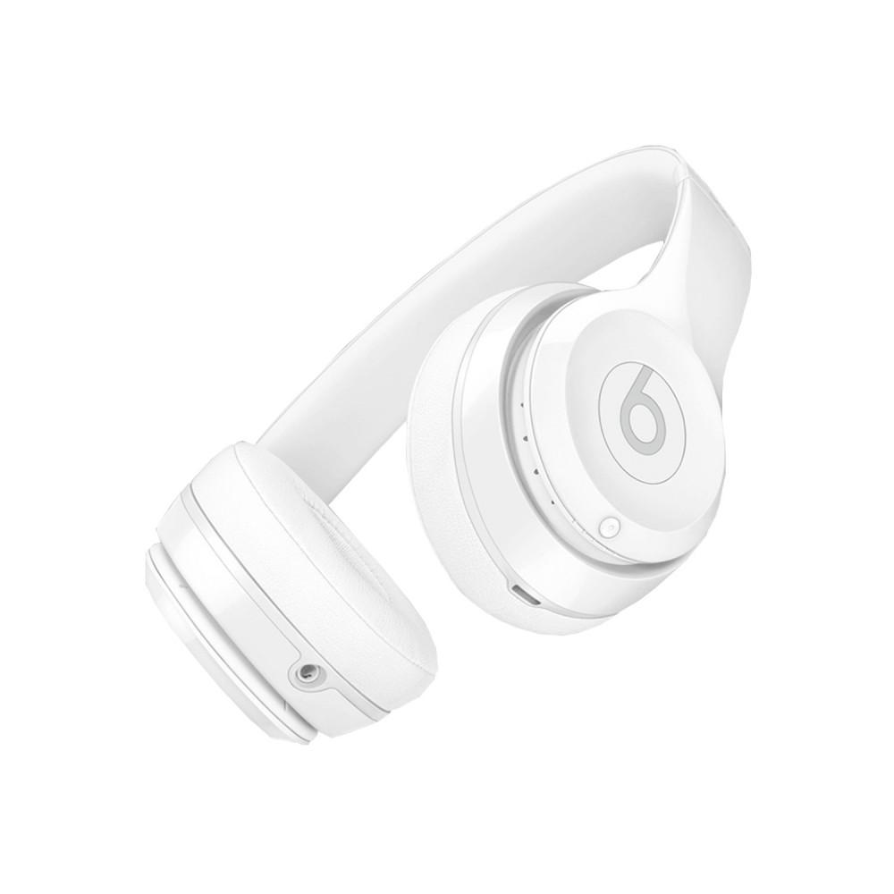 Beats Solo3 Wireless On-Ear Headphones - Gloss White 1