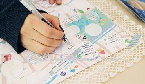 【L13091401】韓版全彩夢想大地圖 DIY手繪塗鴉夢想計劃