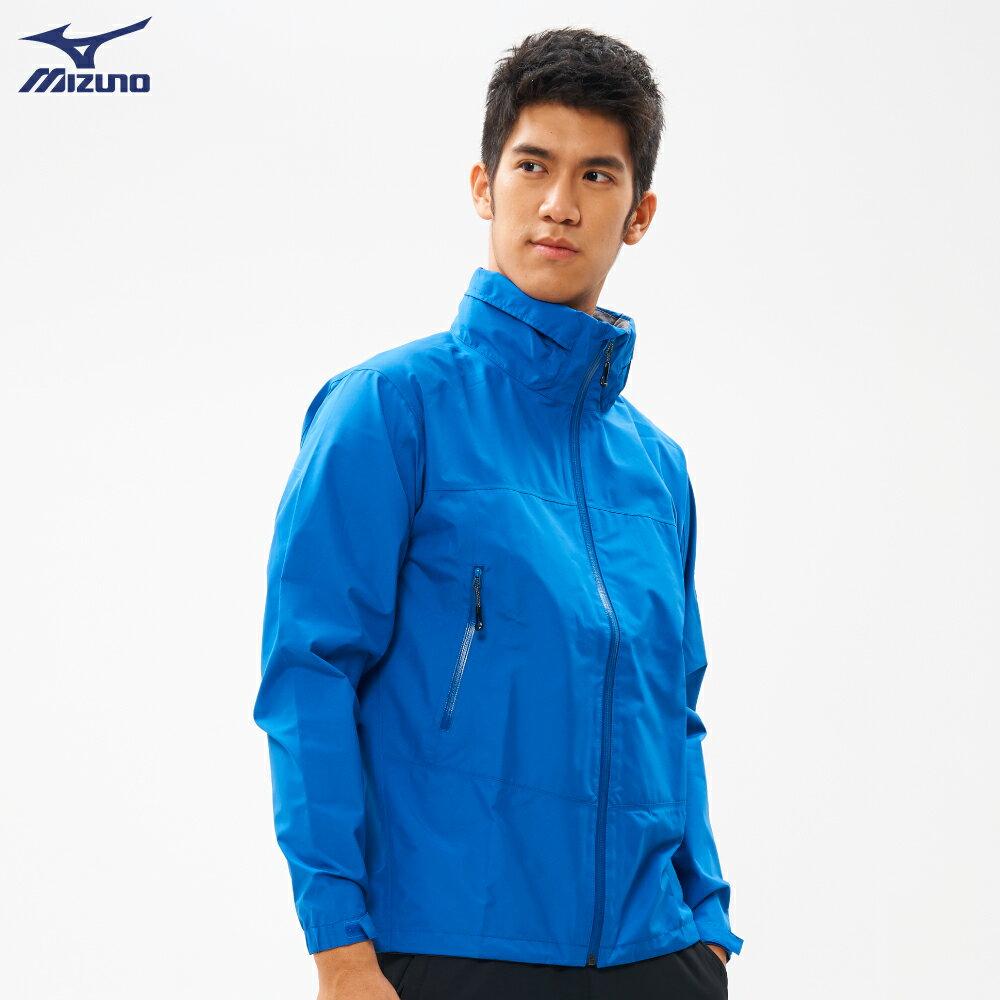 男款單層GORE-TEX防水透氣外套 B2JE9W1022(藍)【美津濃MIZUNO】