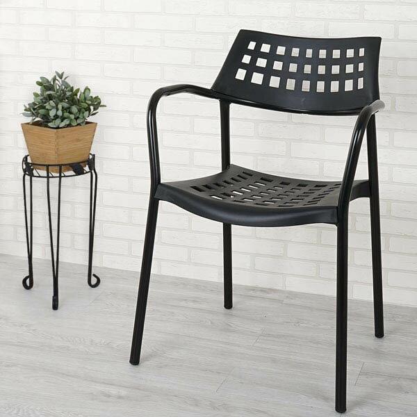 優世代居家生活館:餐椅椅子休閒椅洽談椅《Yostyle》范倫休閒椅(尊爵黑)