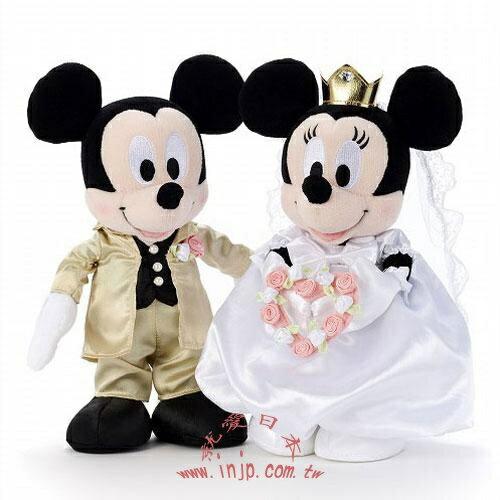 正版米奇米妮結婚禮服婚禮組