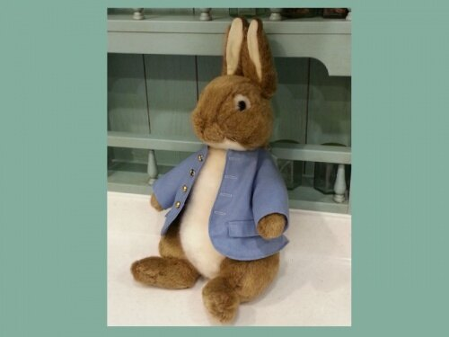 正版日本彼得兔大款玩偶