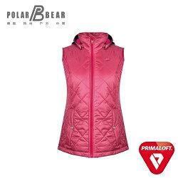【POLAR BEAR】女3M Thinsulate科技羽絨保暖背心