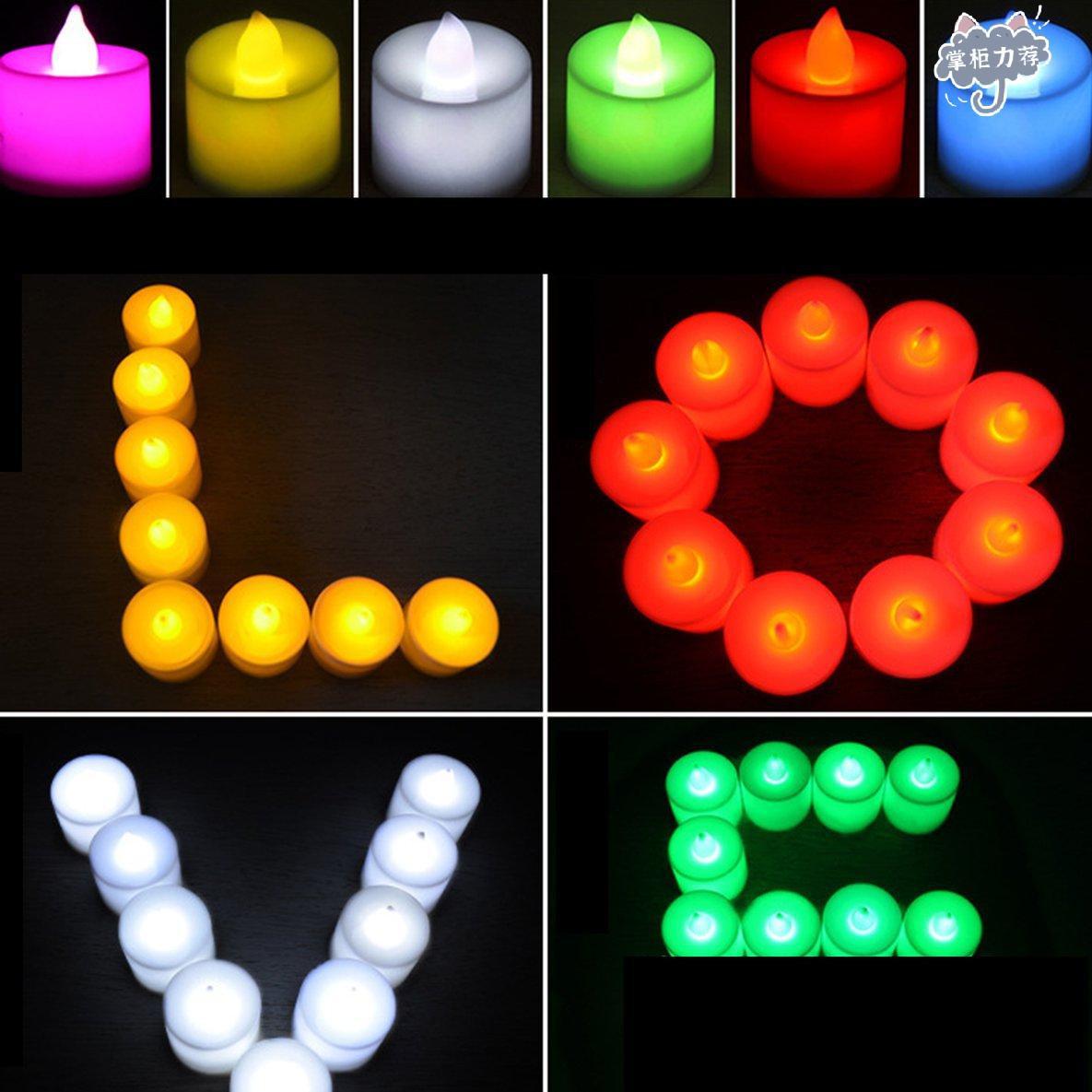 【全館免運】電子蠟燭燈創意結婚浪漫蠟燭佈置道具燈具新品上架