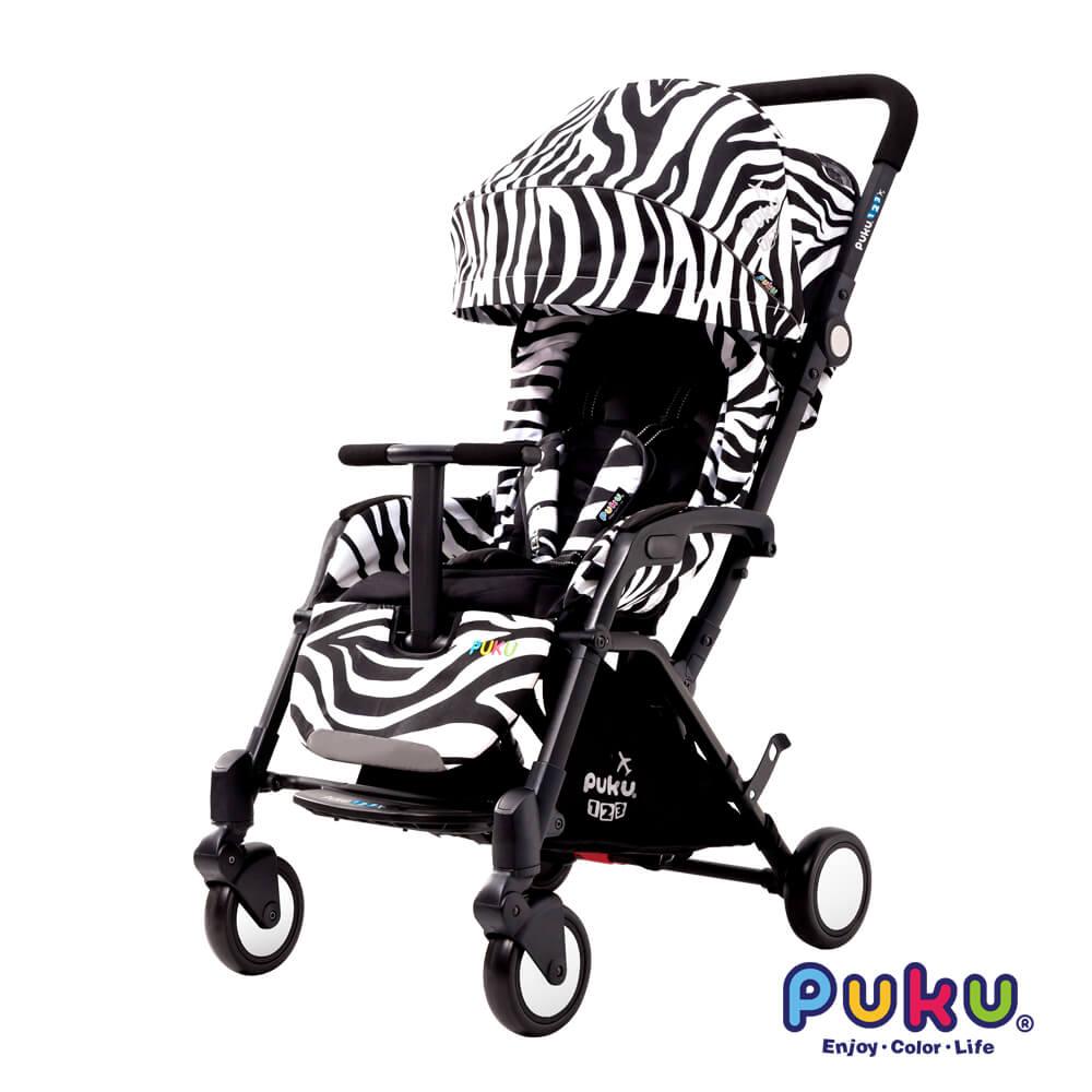 PUKU123旅行推車-Zebra
