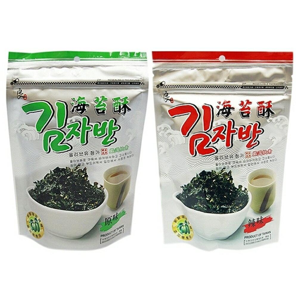 良澔 現烤海苔酥(50g) 原味/辣味 款式可選【小三美日】◢D244612