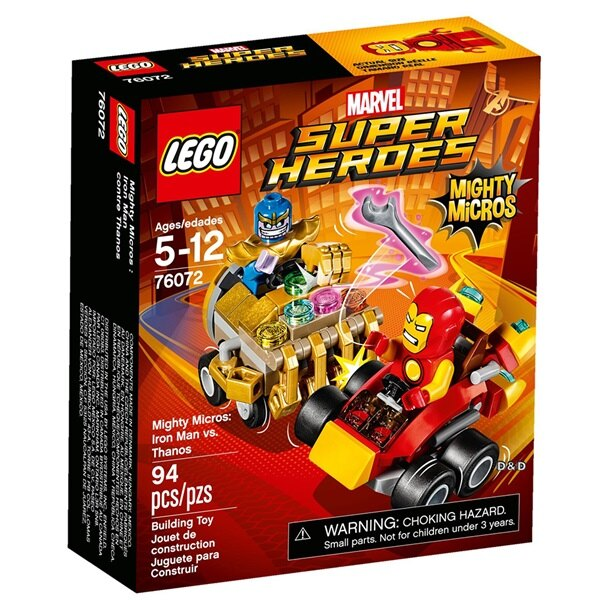 樂高積木 LEGO《 LT76072》SUPER HEROES 超級英雄系列 -Mighty Micros: Iron Man vs. Thanos