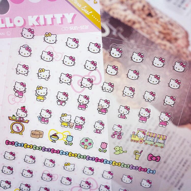PGS7 裝飾 拍立得 底片 - 日本 三麗鷗 凱蒂貓 Kitty 手帳本 裝飾貼紙 日記本 卡片【SHJ7069】