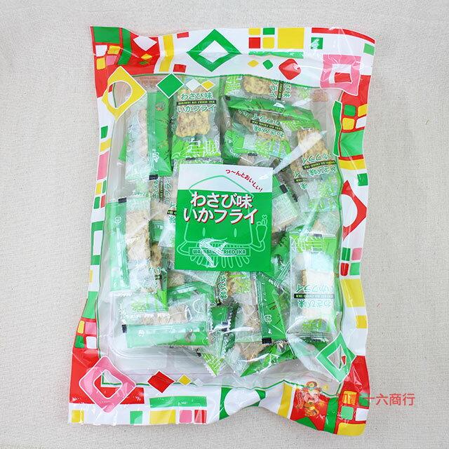 【0216零食會社】日本SANTA山葵味炸烏賊脆片130g