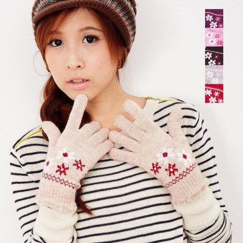 【MIT台灣製】雙層內裡羽毛紗針織手套保暖手套─毛口款(多色可選)