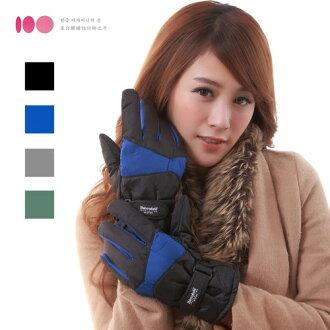 【3M】男用防風防潑水止滑手套(多色可選)