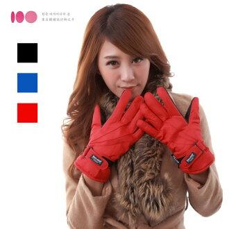 【3M】女用防風防潑水止滑手套(多色可選)